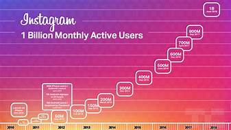 Instagram monthly user